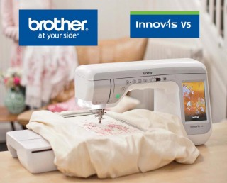 BRODEUSE MACHINE A COUDRE BROTHER V5