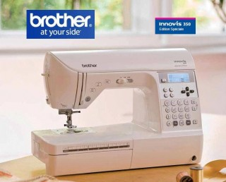 MACHINE A COUDRE BROTHER INNOVIS 350 ET BROTHER INNOVIS 350SE
