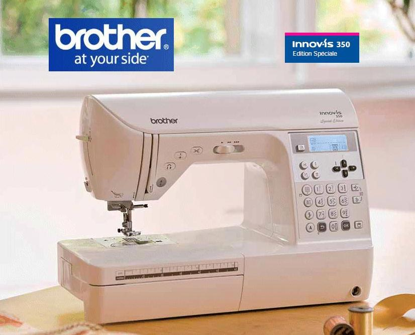 Machine a coudre brother innov is 350 se les for Machine a coudre 10 ans